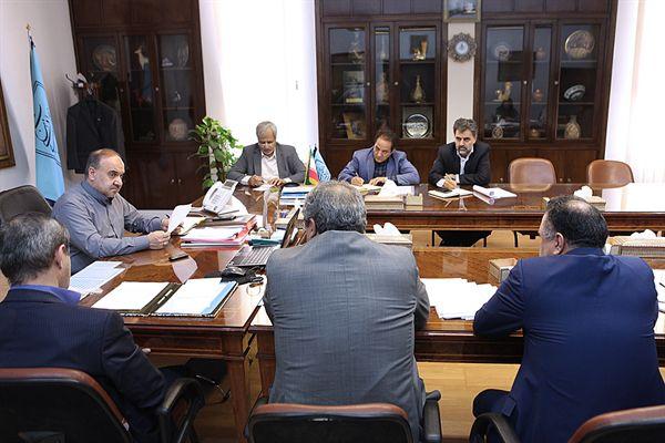 نشست دکتر سلطانی فر با مدیر مناطق محروم ریاست جمهوری - 20 تیر 94
