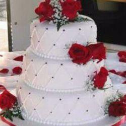 اینم کیک تولدم. . .خوبه؟:-) فقط کمتربردارید ب بقیه هم برسه;-):-):-)
