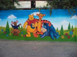 تندیس هنر - نقاشی های دیواری - استاد امیر باغانی