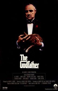 نمایی از پوستر فیلم «پدرخوانده» به کارگردانی فرانسیس فورد کاپولا