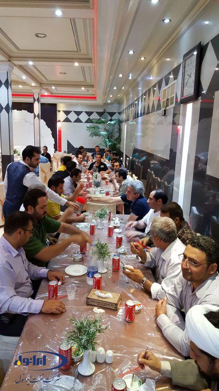 سفر زیارتی قم و جمکران پرسنل شرکت نفت ایرانول(14مرداد 94)