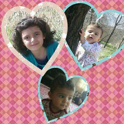 دختر دایی های عزیزم.   هستی و هانیا