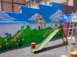 تندیس هنر - نقاشی مهدکودک - استاد امیر باغانی