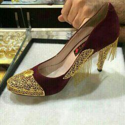 کفش طلا 16میلیون