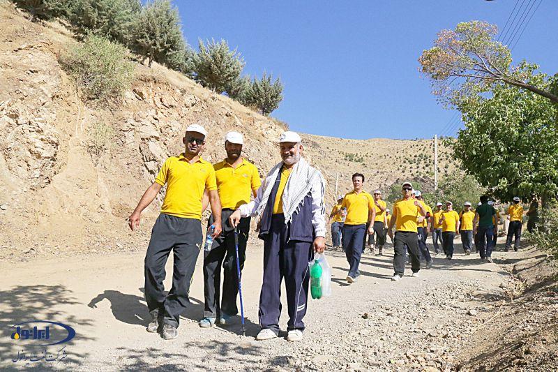کوهپیمایی پرسنل ایرانول - توچال 15 مرداد 94
