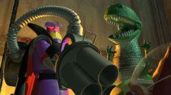 نمایی از فیلم «داستان اسباب بازی های 3» به کارگردانی لی آنکریچ