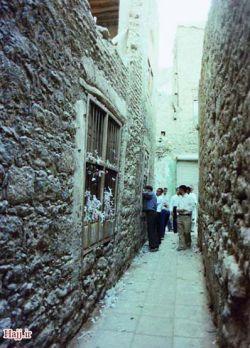 كوچه بنی هاشم قبل از تخریب توسط آل سعود
