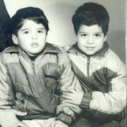 من و برادرم یهویی 27 سال پیش