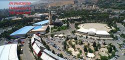 تصویربرداری و عکاسی هوایی از نمایشگاه بین المللی تهران  بخش مبلمان (مبلکس) helikopter.ir helishot.net 09196028059