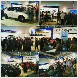 غرفه رامک خودرو در نمایشگاه خودروی مشهد 94