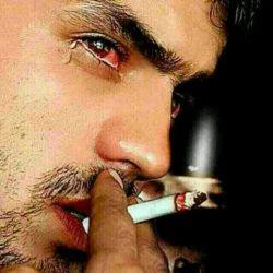 راست میگن مرد گریه نمیکنه✋ خیلی حالش بد بشه سیگار میکشه
