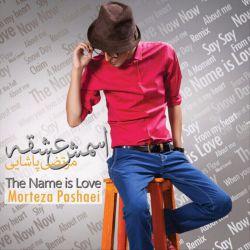 اینم عکس آلبوم اسمش عشقه عشقم آقا مرتضی. خیلی ترانه های زیبایی بود. از دستش ندید.