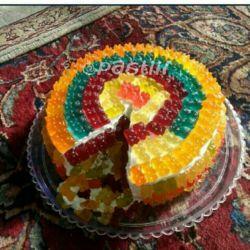 کیک پاستیل
