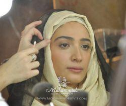 گریم مینا ساداتی بازیگر نقش امنه 1