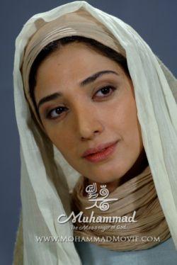 گریم مینا ساداتی بازیگر نقش امنه 2