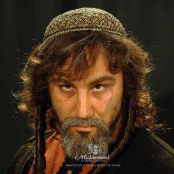تست گریم محسن تنابنده در نقش ساموئل 3