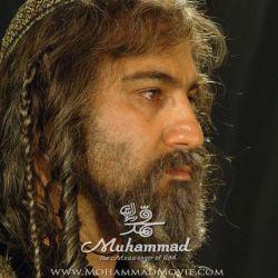 تست گریم محسن تنابنده در نقش ساموئل 4