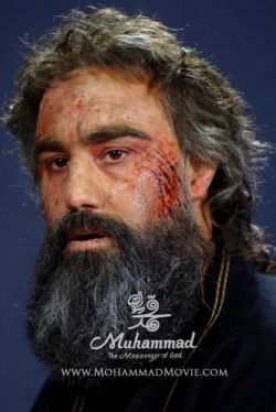 تست گریم محسن تنابنده در نقش ساموئل 5
