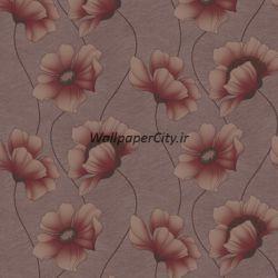 کاغذ دیواری گل دار سالن پذیرایی