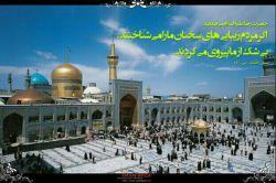 تولد امام رضا (ع) مبارک. التماس دعا