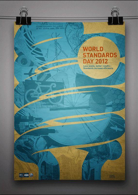 پوستر روز جهانی استاندارد سال 2012 - WORLD STANDARDS DAY 14 Octobr 2012 - سایت ترویج استاندارد -  http://tarvijstandard.ir/391