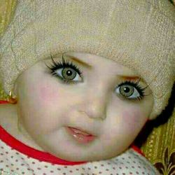 ما نفهمدیم عکس انسان است یا عروسک ???