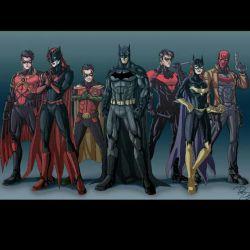 خانواده ی خفاشی (Bat family)