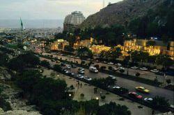 اینم نمایی از سپیده دم شیراز