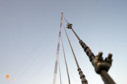 دکل G35 سه وجهی 9 متر مهار