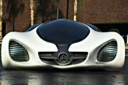 یک ماشین فوق العاده از شرکت مرسدس بنز