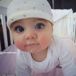 زیبا ترین کودک دنیا به نام ایجپت فرزند یه خواننده ی استرالیاییه