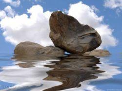 آرامش سهم قلبی است که در تصرف خداست...!