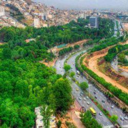 خیابان چمران، شیراز، ایران