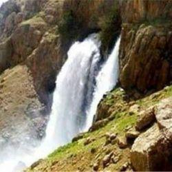 آبشار چکان . لرستان الیگودرز