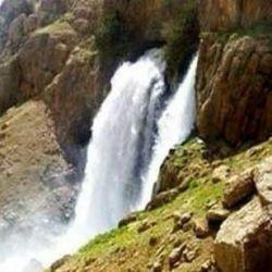 آبشار چکان شهرستان الیگودرز استان لرستان