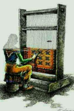 من شبها خیال بافی میکنم    وروزها رج به رج آن را میشکافد!!!...