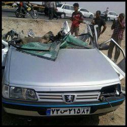 تصادف در بندرعباس جان چهار دختر بیچاره راگرفت