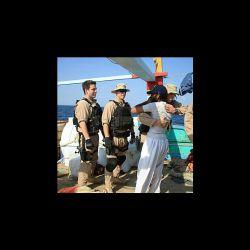 ملوان لنج جنوبی دزدان دریایی در تنگه باب المندب پستگیر تحویل کشتی امریکایی دادند