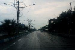 بندرگز و نعمت بارش باران