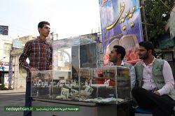 حضور پرشور روزه داران در نماز عید فطر- به میزبانی خیریه حضرت زینب، برخی مساجد باقرآباد و بسیج
