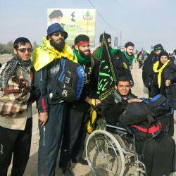 پیاده روی اربعین 93 با جونان حزب الله لبنان