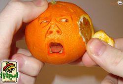 عکس های خوشمزه - پرتقال بامزه