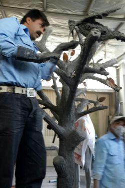 ساخت درخت با کلاق