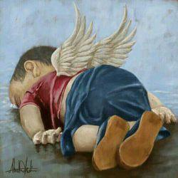 غرق شدن کودک سوری قلب کل جهان رو بدرد اورد ادامه کامنت اول......