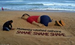 Syrian child, you are in our hearts even though oceans rejected thee