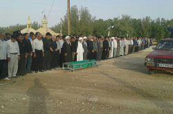 چه نماز غم انگیزی