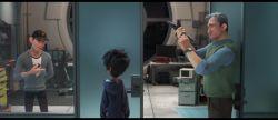 نمایی از فیلم «6 ابر قهرمان» به کارگردانی دان هال و کریس ویلیامز