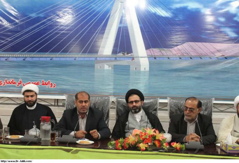 جلسه شورای اداری شهرستان لالی باحضور دکترجلیلی