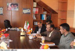بازدید دکتر جلیلی از شهرک های صنعتی مسجدسلیمان