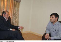 دیدارپیرامون مدیرعامل شرکت بهره برداری نفت وگاز شهرستان مسجدسلیمان با دکترجلیلی